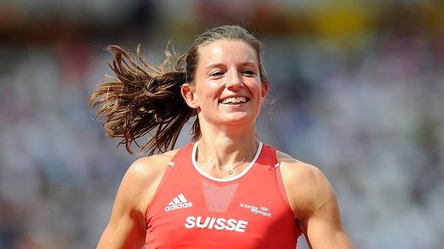 Siebenkämpferin Ellen Sprunger zeigte im letzten Jahr starke Leistungen.