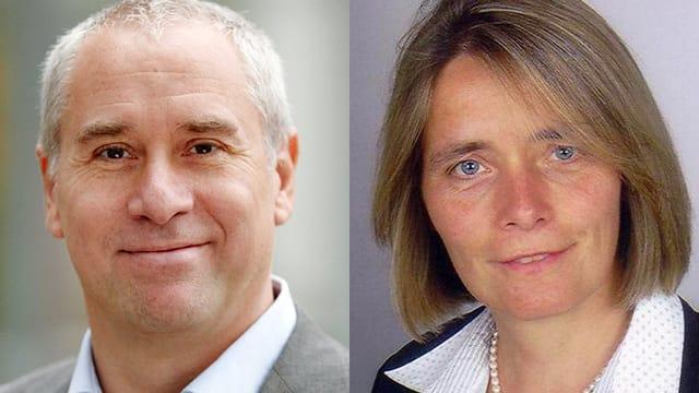 Dr. Thomas Münzer und Dr. Bernadette Ruhwinkel