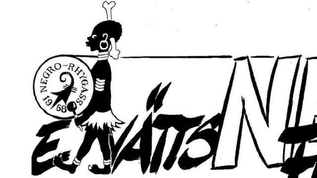 Das Logo der «Negro Rhygass» besteht seit 1927, die Clique wurde 1958 indes nochmals neu gegründet.