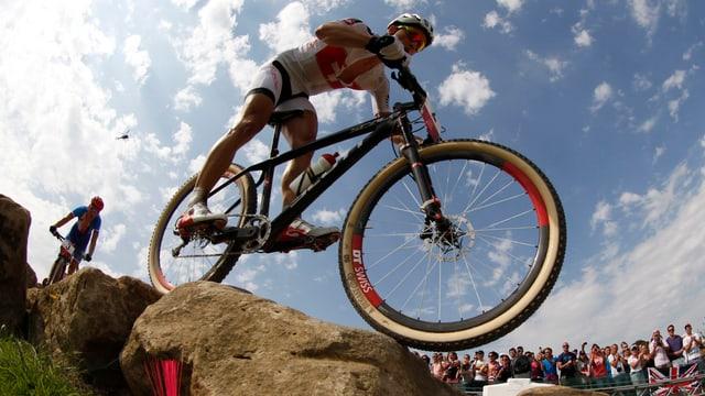 Nino Schurters Chancen für die 1. EM-Einzel-Goldmedaille bei der Elite stehen gut.