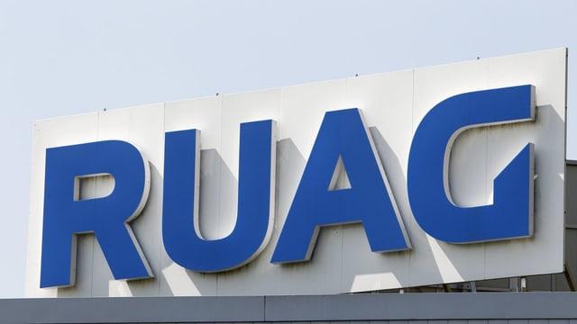 Il logo da Ruag.