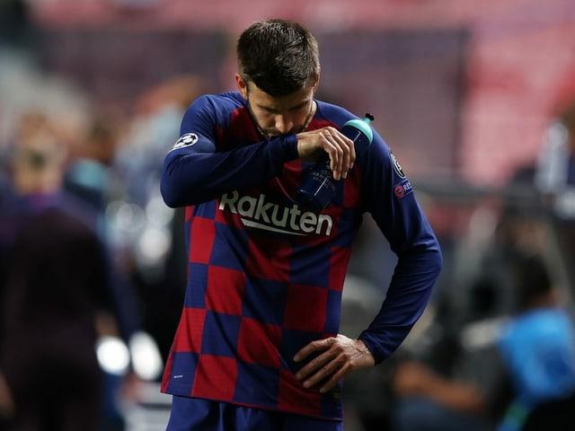 Barcelona-Verteidiger Gerard Piqué.