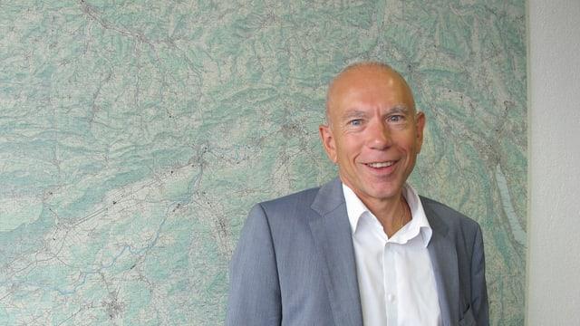 Ehem. Präsident des Aargauer Lehrerverbands, Niklaus Stöckli.