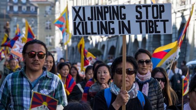 Am 10. März 2017 gedachten Exil-Tibeter dem 58. Jahrestag des tibetischen Nationalaufstands.
