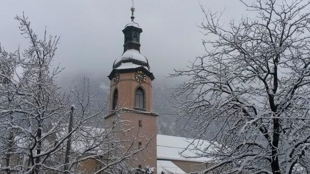 catedrala a Cuira, d'enviern