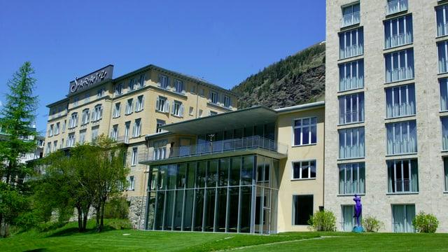 L'hotel Saratz a Puntraschigna.