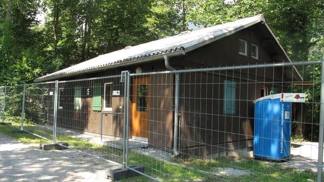 Foto einer Truppenunterkunft des Militärs in Alpnach.