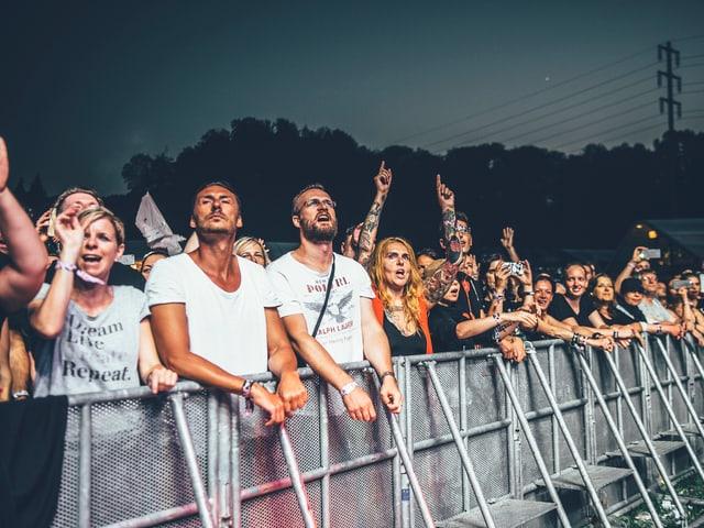 Bei Depeche Mode ist der Altersschnitt ein bitzeli höher als sonst.