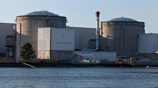 Das Atomkraftwerk Fessenheim in Frankreich.