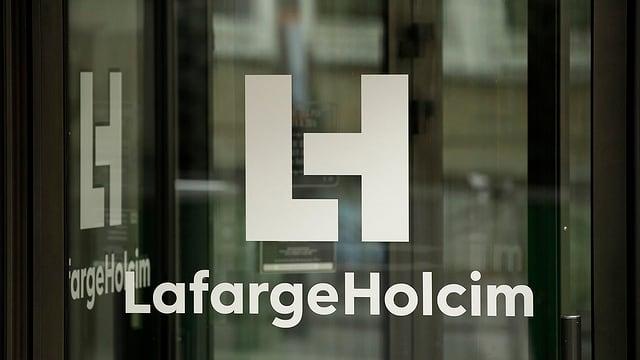 Logo da lafargeHolcim.