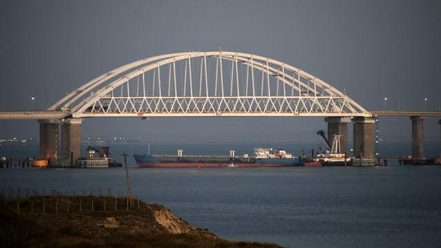 Die Krimbrücke.