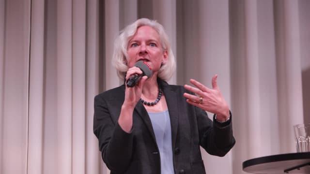Nadine Gautschi, Ökonomin und Vize-Präsidentin FDP BS