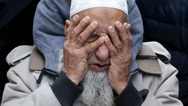 Fassungslos, enttäuscht, besorgt: ein Moslem in Manhattan.