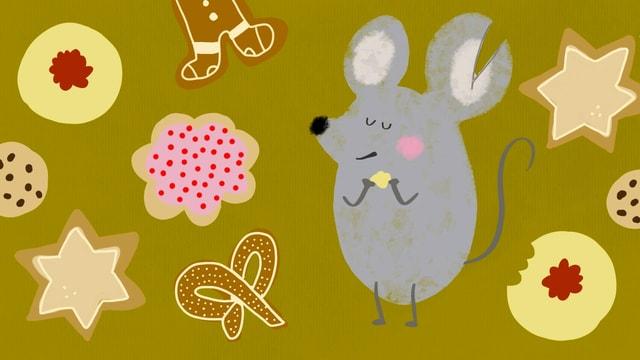 Die Maus mit dem Schlitzohr