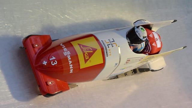 Der Kölliker Rico Peter hat beim 2er-Bob-Rennen in Igls Rang 11 erreicht und sich damit für Sotschi qualifiziert.