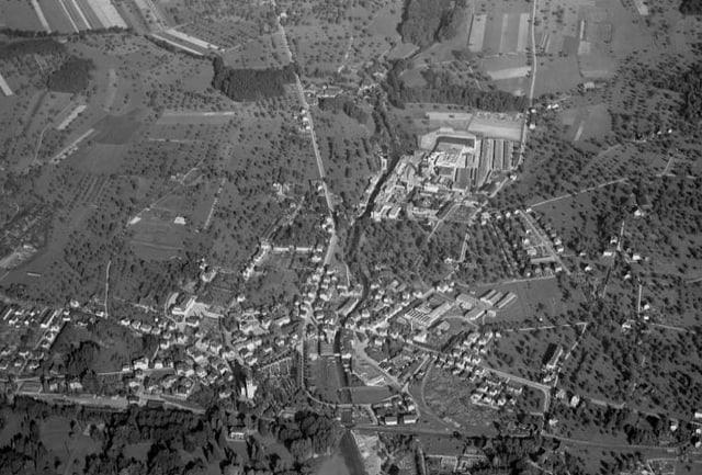 Luftaufnahme von Cham