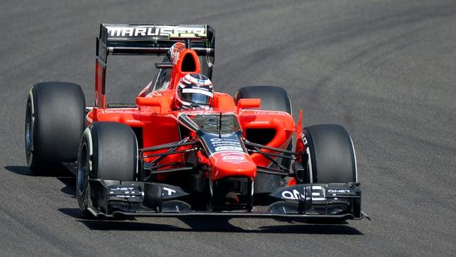 Max Chilton scheint als Testfahrer bei Marussia überzeugt zu haben.
