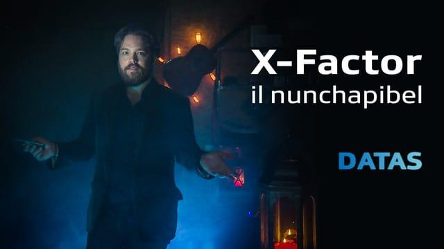 Laschar ir video «X-Factor rumantsch: Davart datas»