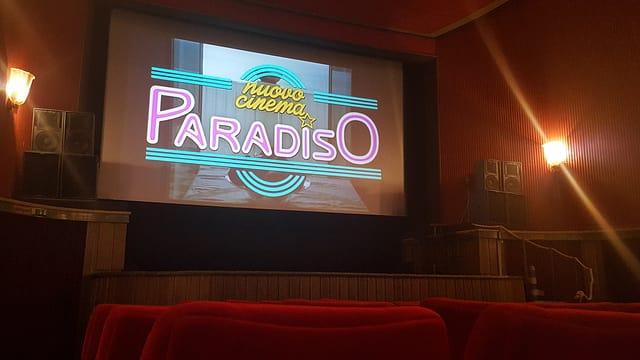 Il kino Scala a San Murezzan.