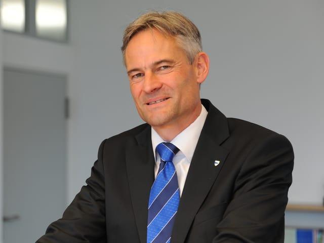 Matthias Michel ist 2003 für die FDP in den Zuger Regierungsrat gewählt worden.