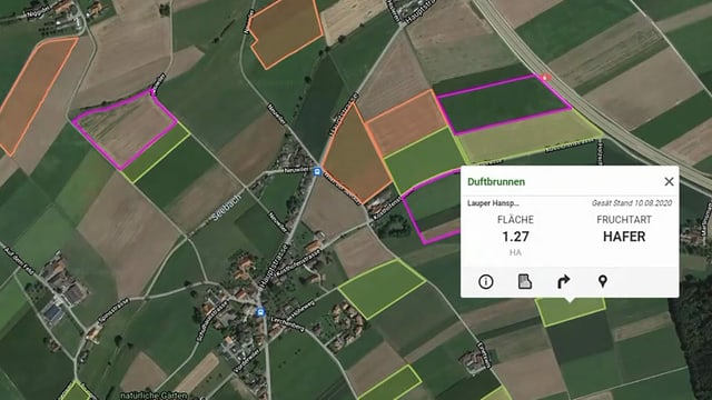 Big Data auf den Feldern: Jedes ist exakt vermessen und produziert jedes Jahr mehr und mehr Daten.