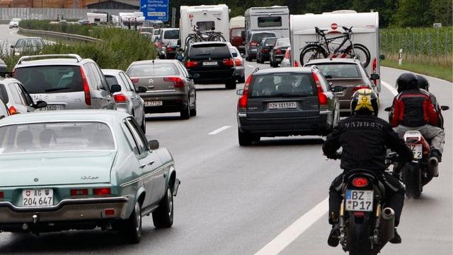 Bler traffic sin l'autostrada A 13.