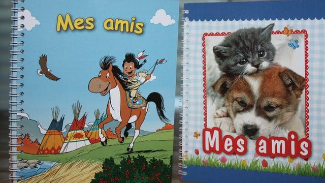 L'album d'amis datti en duas variantas.