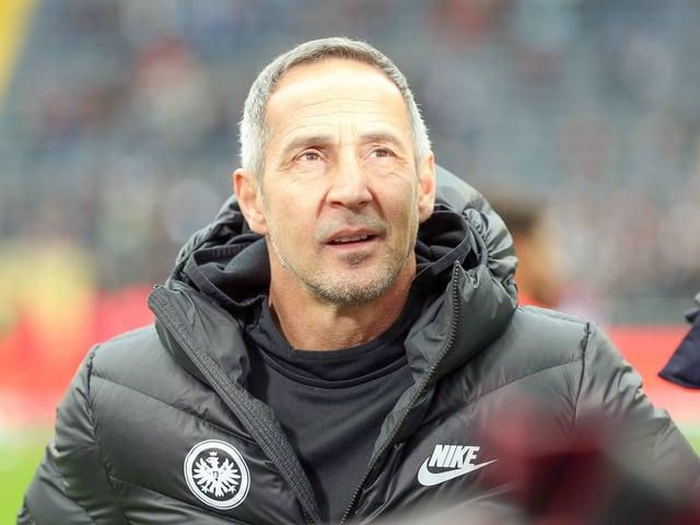 Frankfurt-Trainer Adi Hütter.