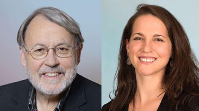 Neue SP-Präsidenten: Max Lemmenmeier, Kanton St. Gallen; Nina Schläfli, Thurgau.