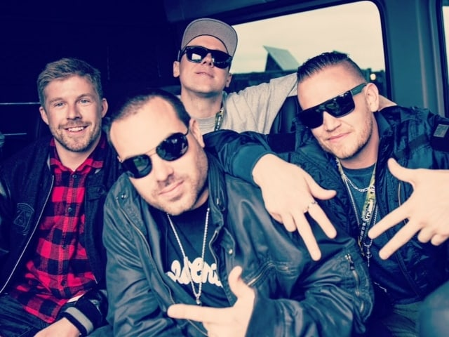 Hilltop Hoods bei SRF Bounce im Interview.