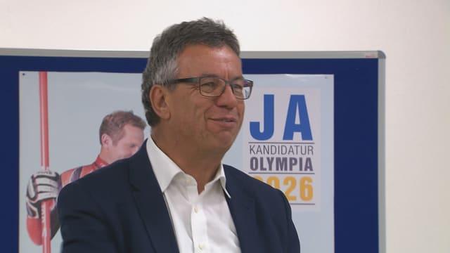 Il directur da l'uniun per mastregn Jürg Michel è commember dal comité per gieus olimpics en il Grischun.