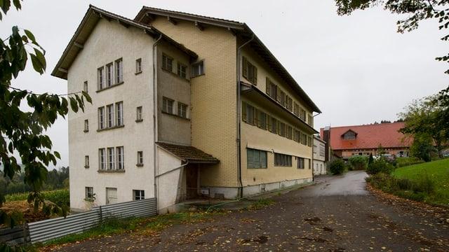 Das ehemalige Altersheim soll Asylunterkunft werden.