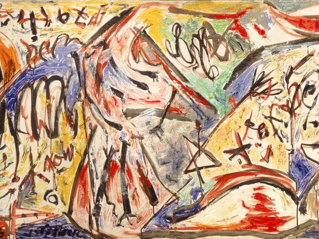 Jackson Pollock: «The Water Bull», 1946.