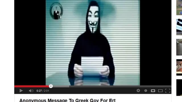 Ausschnitt aus Youtube-Clip.