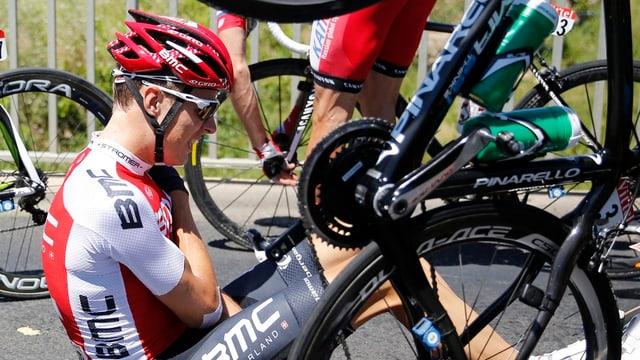 Michael Schär kann die diesjährige Tour de France nicht zu Ende fahren.