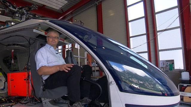 Martin Stucki, CEO von Marenco Swisshelicopter AG.