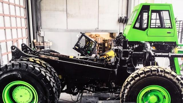 Bild des E-Lastwagen Prototypen.