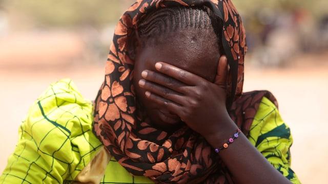 Wurde von der gefährlichsten Terrorgruppe, Boko Haram, entführt: die 20-jährige Dorcas Aiden.
