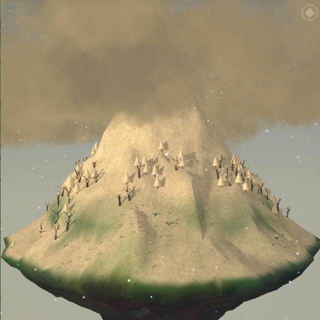 Der weisse Berg.
