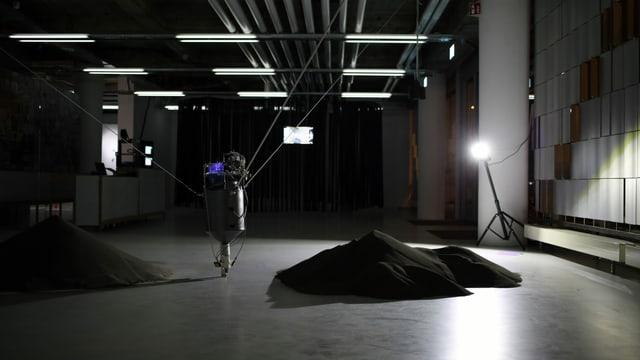 Eine Roboter-Installation im MuDA