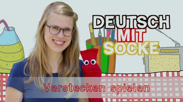 Video «Deutsch mit Socke: Verstecken spielen (21/35)» abspielen