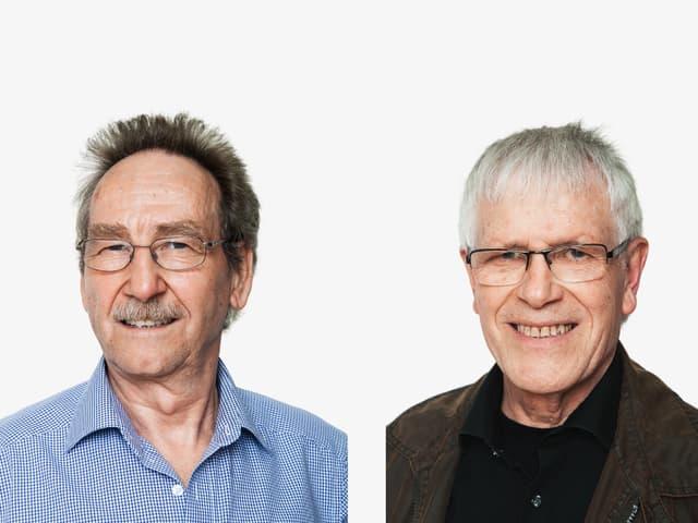 Porträt von Hans Hiestand und Walter Koch