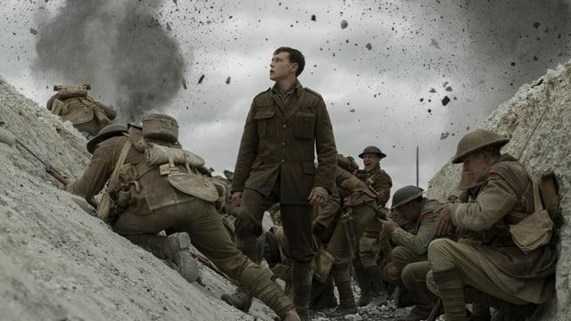 «1917» werden nicht nur Steine, sondern auch Oscar-Statuen um die Ohren fliegen.