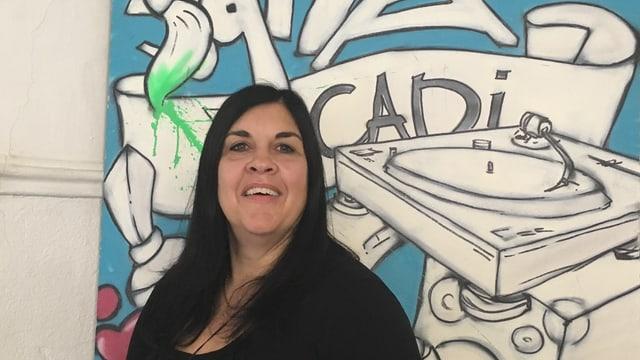 Gabriela Cabalzar è lavurera sociala e promotura da la giuventetgna en la Cadi.