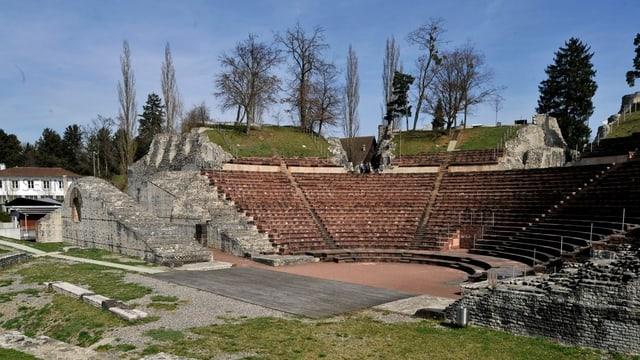 Das Amphitheater der Römerstadt Augusta Raurica