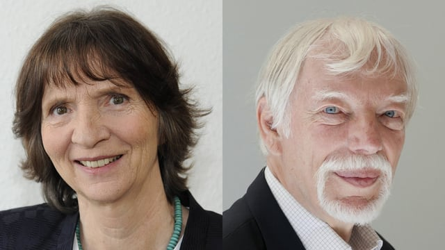 Porträts Aleida und Jan Assmann