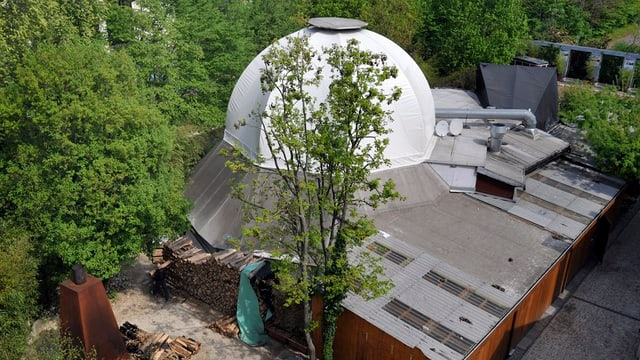 Blick auf Kuppel von oben