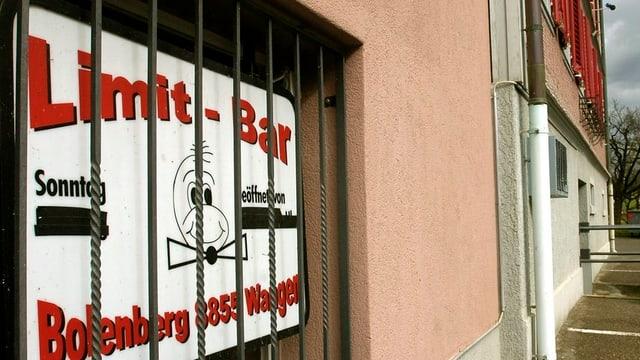 Die Kontaktbar Bolenberg in Tuggen im Jahr 2007.