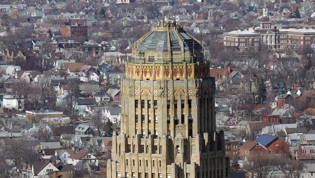 Das Ratshaus von Buffalo.