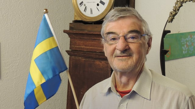 Purtret da Tumaisch Nay che ha abità 25 onns en Svezia.